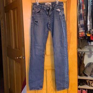 Hollister light wash jeans, 5L